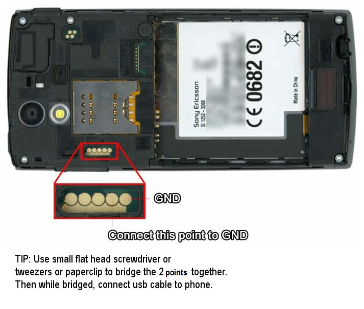 to unlock your Sony Ericsson Xperia Play - Using the unlocking codes